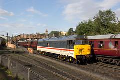 50031 - Bridgnorth (Tangomiller) Tags: train trains railway railways class 50 hoover 50031 hood svr severn valley kidderminster bridgnorth intercity swallow loco locomotive