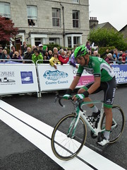 Hctor Sez in for 36th (Steelywwfc) Tags: hector saez caja rural seguros rga 2016 tour britain kendal