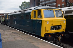 D7076 at Bury (colin9007) Tags: east lancashire railway diesel gala wr hydraulic maybach beyer peacock class 35 hymek d7076 beyerpeacock