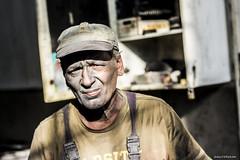 Dybala (Fabio75Photo) Tags: man portrait maurizio lavoro work occhi volto cappello sguardo faccia viso barba sfocato