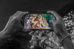 Dhyani Mani Chintamani - 2016 (megamoments.sk) Tags: chintamani ganpati festival blackandwhite color agaman