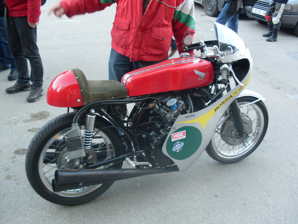 Honda rc162 rc 162 1961 250 four race motorcycle bike picture print - Sdc11543 Bottspeed Tags Honda Rc162