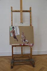 photoset: Akademie xhibit: Rosa Arbeit auf goldener Straße  (10.11.2012 - 3.2.2013)