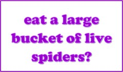 Eat a Large Bucket of Live Spiders (Enokson) Tags: school winter signs window sign fun spider bacon student raw december notes spiders eating live library libraries board note pork eat gross displays question signage disgusting yuck alive mold schools bulletinboard moment mould interactive yucky bulletin 2012 moldy juniorhigh participation mouldy uncooked librarydisplays librarydisplay studentparticipation teenlibrary juniorhighschools schooldisplay middleschoollibrary december2012 middleschoollibraries schooldisplays teenlibraries signslibrary vblibrary juniorhighlibraries juniorhighlibrary enokson winter2012 librarydecoration questionofthemoment jenoksondisplay enoksondisplay jenoksondisplays enoksondisplays