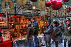 In the Frame (GreasyJoe) Tags: greatbritain people london market christmasballs christmasdecorations coventgarden hdr marketstalls applemarket coventgardenmarket photomatix tonemapped tonemapping christmasbaubles handheldhdr canoneos600d