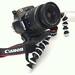 Gorillapod Canon 1100d camera