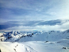 View from Val d'Isere (An Oxymoron) Tags: winter snow france alps landscape tignes iphone