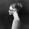 Break II (Sabine Fischer) Tags: selfportrait abstract photomanipulation dark pain break jaw surreal xray bones conceptual jawbone sideface radiograph