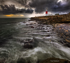 153.2012 - Strange Light at Portland Bill (Pawel Tomaszewicz) Tags: wallpaper england sky colors pool beautiful clouds photoshop canon portland bill europe long exposure angle wide picture wideangle dorset bournemouth weymouth hdr hdri pawel chmury photomatix tomaszewicz paweltomaszewicz