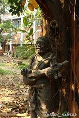 Unfinished Song (Durlov Nibras) Tags: sculpture du instrument string baul dotara চারুকলা বাউল দোতারা