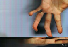 Can't Get A Hold (Rebeak) Tags: movement hands scanner palm ring myhands rebeak