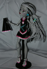 Second Frankie Custom 1 (Humble Zombie) Tags: monster doll ooak frankie frankenstein repaint fearleader monsterhigh