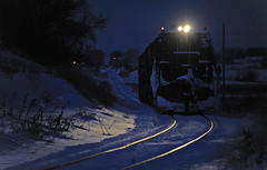 Plow Train Blues (Philip_Martin) Tags: snow apple wisconsin train candy pacific canadian line jordan plow cp soo wi 2012 spreader gp382 4444 g63