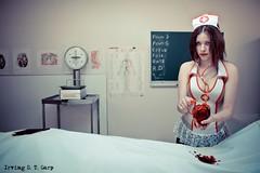 De battre, mon coeur s'est arrêté - The Beat That My Heart Skipped (Irving S. T. Garp) Tags: dead death blood heart mort coeur nurse sang morgue cadavre infirmière