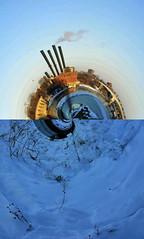 Mississippi River VII (K Vogel) Tags: city bridge winter color art history water minnesota stone architecture river mississippi arch minneapolis mississippiriver stonearchbridge