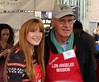 Los Angeles Mission Christmas Eve For The Homeless Featuring: Bella Thorne, Harrison Ford Where: Los Angeles, California, United States When: 23 Dec 2012 Travis Wade/WENN.com