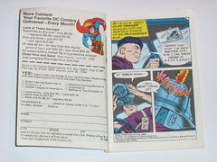 m.a.s.k mini comic 3 assault on boulder hill kenner 2 (tjparkside) Tags: comic mask kenner minicomic
