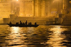 Rana Ghat, Varanasi (Biswajit_Dey) Tags: people india reflection travelling silhouette boat nightshot varanasi kashi touristattraction banaras uttarpradesh historicalcity northernindia thegalaxy riverganges ranaghat mygearandme nikond3100 rememberthatmomentlevel1 flickrsfinestimages1 flickrsfinestimages2 bestevergoldenartists oldestcontinuouslyinhabitedcitiesintheworld