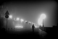 (asfal.TO) Tags: winter bw fog nebbia turin solitudine