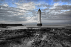 NEW BRIGHTON LIGHTHOUSE (PERCH ROCK), NEW BRIGHTON, MERSEYSIDE, ENGLAND. (ZACERIN) Tags: brighton new digitalcameraclub nikon brighton river photography rock sea hdr nikon image irish lighthouse lighthouse hdr england liverpool mersey rock seaside d800 d800 lancashire merseyside perch perch eddystone eddystone