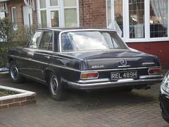 1969 Mercedes Benz 280SE (GoldScotland71) Tags: 1969 mercedes benz automatic 1960s 280se rel489h
