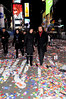 Courtney Laine Mazza and Mario Lopez New Year's Rockin' Eve 2013 in Times Square