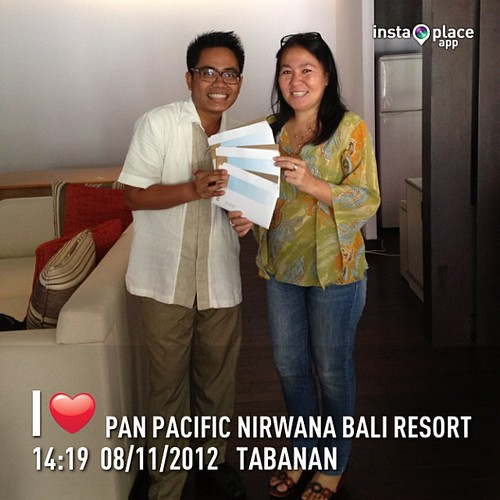 Our dearest media friend from Creme Publishing, Miss Ronnie #bali #instaplace #instaplaceapp #instagood #photooftheday #instamood #picoftheday #instadaily #photo #instacool #instapic #picture #pic @instaplaceapp #place #earth #world  #indonesia #tabanan #