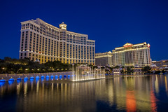 Bellagio Blue Hour - Las Vegas, NV