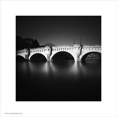 Pont Neuf, Paris (Ian Bramham) Tags: bridge white black paris france sunrise photo bridges medieval pontneuf ianbramham