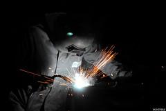 soudeur / welder (pontfire) Tags: france industry sand workmen sable travail minerals mineral waste quarry gravel workman crusher fines carrière cailloux aggregate welder aggregates travailleur soudeur sandmining granulat concassage granulats aggregatesquarry pontfire