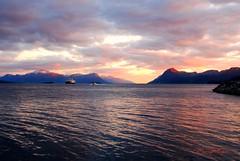 Eveningtime over Romsdalfjorden (murtphillips) Tags: light summer june norway evening martin phillips fjord 2009 molde murt romsdalfjorden mygearandme blinkagain