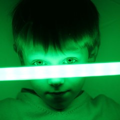 le retour du jedi (nicouze) Tags: boy children square star child portait vert sabre jedi laser wars enfant garon regard carr nicouze