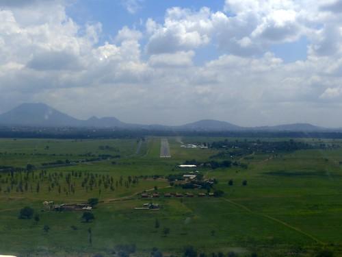 Landing in Arusha
