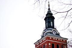 Kyrktorn (EvasSvammel) Tags: church sala campanile kyrktorn 365foton