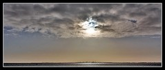 Horizon (SydPix) Tags: light cloud sun reflection water river coast glare mud estuary rays hull refinery humber foreshore victoriadock killingholme sydyoung