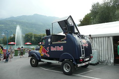 Red Bull music truck, CH (BuonCuore) Tags: street food coffee car truck snacks van cart sales vending olsen concession grumman foodtruck stepvan streetsales