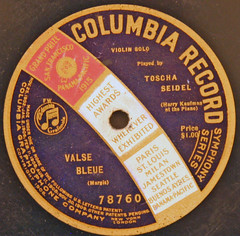 Columbia Record - 78760 (1) (Klieg) Tags: columbia brunswick victor 03 collection record victrola klieg 78s klieger