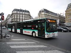 MAN Lion's city GL (Anthobusetvoiture) Tags: city man paris bus lions autobus ratp gl 4965 roissybus articul