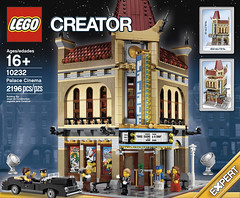LEGO Creator Expert 10232 - Palace Cinema - Box Art Front (THE BRICK TIME Team) Tags: new city cinema building brick corner town kino theater lego chinese grand modular hollywood stadt premiere creator build exclusive limousine expert tlg lichtspielhaus minifigures 2013 10232
