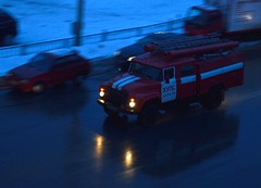 DSC_0173 (kowka_v_okrowke) Tags: street car night fireengine kharkov