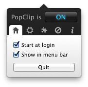PopClip for Mac screenshots