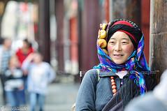 Tibetan Lady (shahreen | amri) Tags: tibet tibetanwoman tibetangirl tibetanpeople tibetanlady beautifultibetanlady colourfultibetan colourfultibetanlady