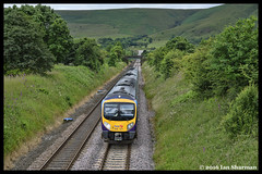 No 185121 9th July 2016 Edale (Ian Sharman 1963) Tags: station train manchester hope airport diesel no engine july rail railway loco class valley multiple service locomotive express passenger 9th railways edale unit 185 transpennine 2016 dmu 185121