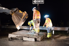D6084_CM-285 (MoDOT Photos) Tags: nightworkzone modot i70 exitramp bycathymorrison d6084 maintenance concretereplacement heavyequipment safetygear harthats safetyglasses reflectiveshirts lights cones saw midway missouri