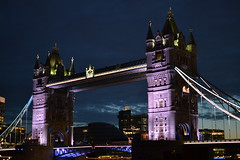 Tower Bridge (arciere84) Tags: tower bridge london thames england towers united kingdom by night dark colours