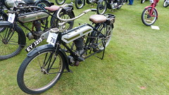 1923 Triumph Model SD 500cc Reg: EY 1215 (bertie's world) Tags: motorcycle lincolnshire steam rally 2016 triumph lincoln showground 1923 model sd 500cc reg ey1215