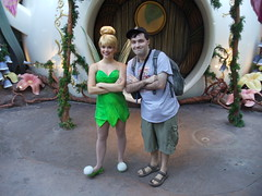 "Tinker Bell (Charles ""The Disney Genius"" Brown) Tags: peterpan disneyfairies tinkerbell anaheim california pixiehollow fantasyland charlesbrown disneyland"