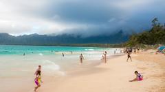 Bellows Beach (E_milTakesPics) Tags: oahu ocean bellows beach pacific hawaii 24mm canon 70d