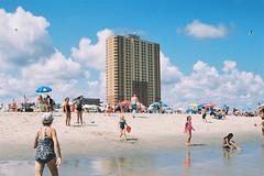 Best beach day (andrewkatchen) Tags: asburypark newjersey jerseyshore beach ocean nikon film 35mm portra400 n6006