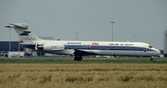 MD-87 | SU-DAP | AMS | 19920700 (Wally.H) Tags: md87 mcdonnell douglas sudap ams eham zasairlineofegypt zarkaniaviationservices amsterdam schiphol md80